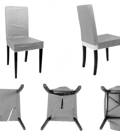 Kombin Sandalye | Beyaz Ayak | Füme